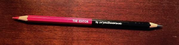 Caran D'Ache & CW Pencils The Editor