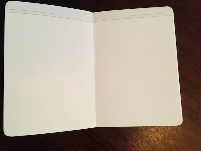 BaronFig dateless pocket planner plain pages